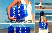 Comment faire un sac de bouteilles de plastique recyclées
