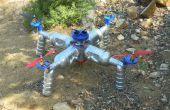 Construire votre propre éco-Quad Copter de Reused et matériaux recyclés