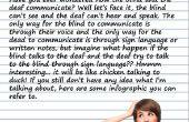 COMMUNICATION entre les aveugles et les sourds en utilisant ARDUINO et 1SHEELD