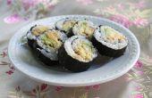 Rouleaux de Sushi simple à la maison