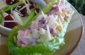 Salade aux oeufs de jolie-en-rose