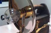 Steam punk lampe de poche