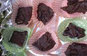 Carrés de chocolat avec canneberges & pacanes ! Un don de nourriture savoureuse !