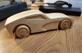 Voiture de Muscle Build - un projet CNC de bois