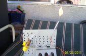 Générateur de gaz inflammable (expérience # 1)