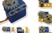Servo-moteur adapté à Lego