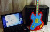 Guitar Hero USB controller avec Arduino et Java