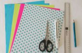 L'artisanat bricolage papier : Origami boîte bijoux tutoriel