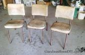 Comment faire pour convertir des vieilles chaises Tables d'extrémité amusant et un siège supplémentaire – manger, boire et être joyeux !
