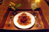 CREVETTES, saucisses, & QUINOA farcies poivrons