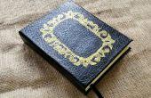 BRICOLAGE personnalisé livre Journal