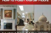 Comment polir les planchers de marbre
