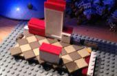Inclinée de plancher de salle de bain/cuisine carrelée de Lego
