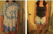 Faire une paire de shorts confortables sur un vieux T-shirt