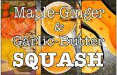 Érable gingembre & ail beurre Squash