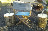 Plein air solaires tables à cocktail et vin solaire / titulaire de microbrasserie