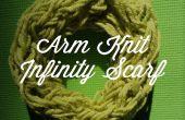 Tricoter un infini écharpe en 30 Minutes de bras