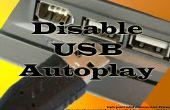 Désactiver la lecture automatique en USB et lecteur de CD de Windows XP