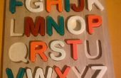 3D imprimé puzzle A_Z pour les garder occupés!!