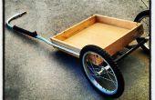 J'ai construit cette remorque vélo