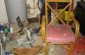 Transformer une vieille chaise en un support de scie à onglets portable