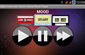 Lecteur de musique Android Arduino et-capteur-temporels