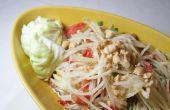 Épicé salade thaïlandaise de papaye - aka « Som Tam »