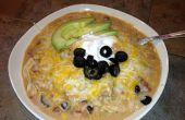 Simple de souper, Souper Delicious Slow Cooker Enchilada soupe aux (c'est vraiment un repas un pot!)