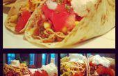 Désordre de tiré des Tacos de porc