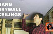 Comment accrocher les plafonds placoplâtre par vous-même