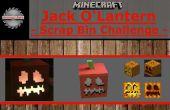 Jack O'Lantern Minecraft avec lumières L.E.D