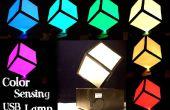 Lampe de caméléon USB (couleur reproduisant)