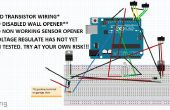 Ouvre-porte de Garage bricolage Arduino-empreinte digitale