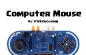 Arduino Esplora souris
