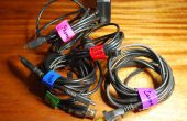 Code de couleur attaches-câbles et étiquettes