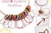 Collier boucles & rondelles