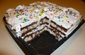 Super Simple Ice Cream Cake