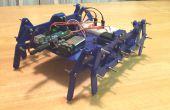 3D imprimé Robot marcheur (Klann Linkage)