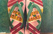 Vers les futur hoverboard pantoufles