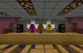 Vitrine : Pizza réplique de Freddy Fazbear dans Minecraft