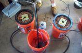 Comment à faire A plusieurs seau Top Feed grandir système hydroponique