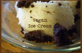 Maison Vegan glace crème... parce que rien d'autre se fait avec plus d'amour