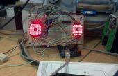Yeux fous de matrice Arduino 8 x 8