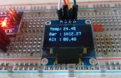 Standalone Arduino altimètre