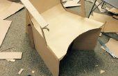Conception d'une chaise en carton fonctionnelle