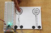 Faire un toucher sensible on/off Circuit avec peinture nu et d'une minuterie 555 IC