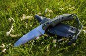 Faire un couteau bushcraft pour canoë-kayak