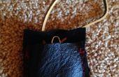 Boussole de poche de cuir