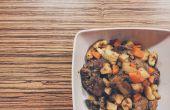 Foie de volaille facile avec légumes racine
