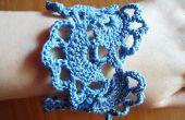 Floral Bracelet au Crochet